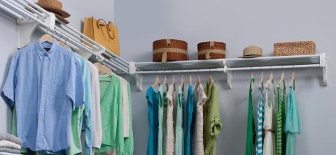 Double Closet Organizer Kit