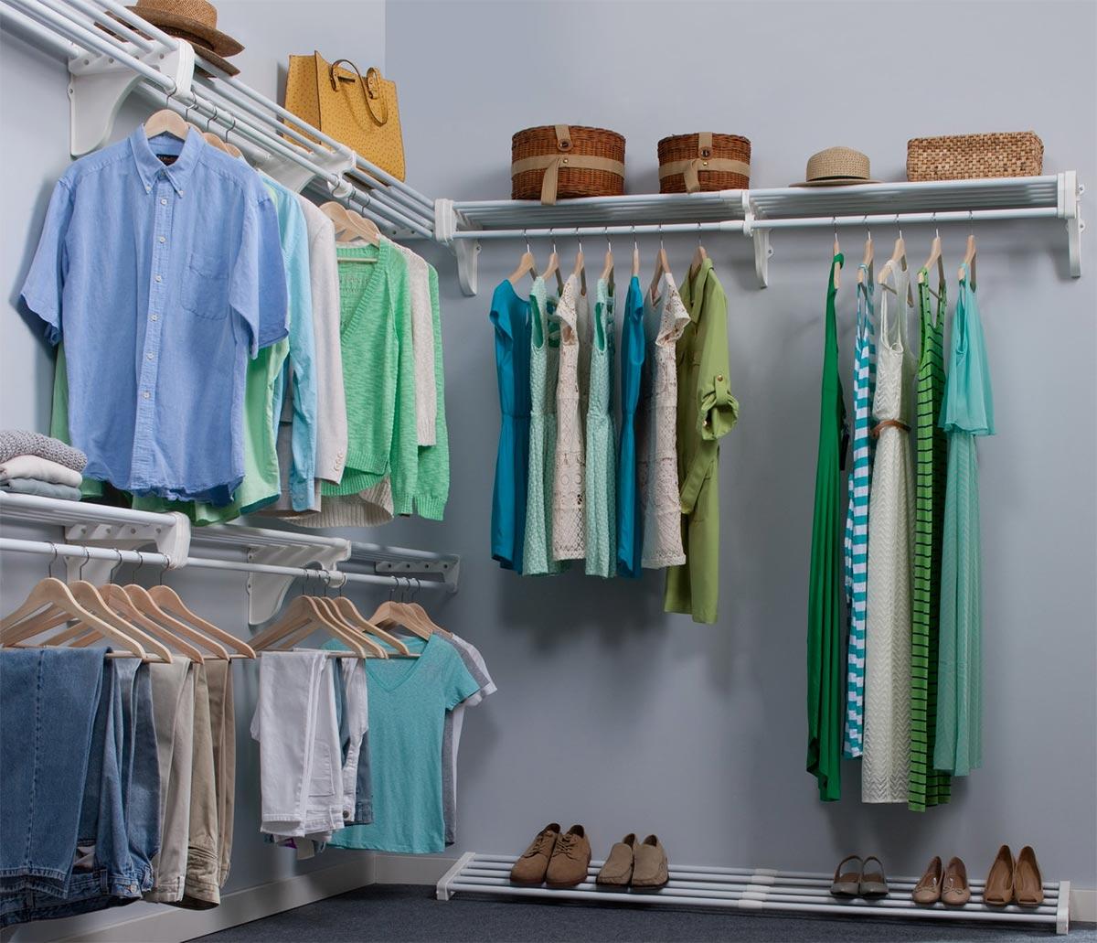 Home ez shelf for Walk in wardrobe kits